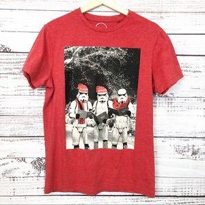 Star Wars Storm Troopers Christmas Caroling Tshirt
